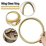 Bestshop Anillo de ratán Wing Chun - Artes Marciales Madera Tsun Siu Lum Kung Fu...