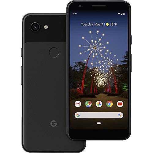 Google Pixel 3A 64GB + 4GB RAM Desbloqueado da Fábrica Android 4G/LTE Smartphone (Preto) - Versão Internacional