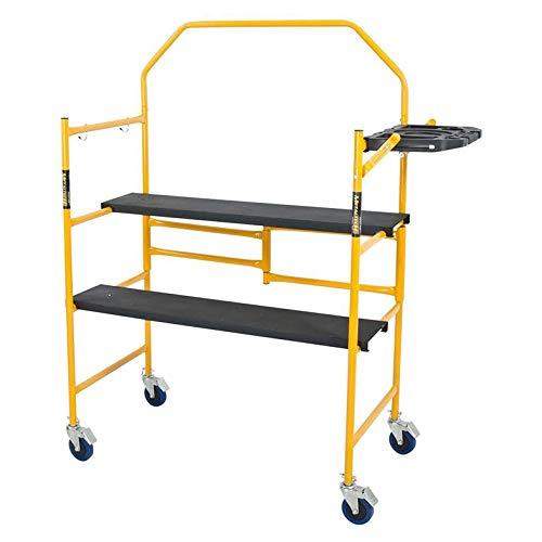 Metaltech imcnt job site series 4-3/4 4 x 2 ft. Scaffold 500 lb. Load...