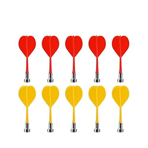 Neue 01.12.15.15/17 Zoll doppelseitige Beflockung Dart Safety Dart Board Safe Spiel Doppelseitig Magnetischer Dart Ziel Magnetic Dart Board Dart Set (Color : Darts*10)