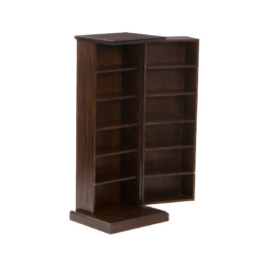 SEI Furniture Southern Enterprises Media Storage Pedestal - Espresso