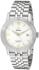 Zodiac Men's ZO9200 Heritage Analog Display Swiss Quartz Silver Watch image