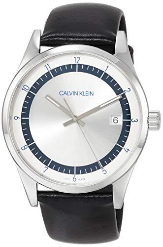Reloj Calvin Klein KAM211C6 con Correa de Cuero Negra
