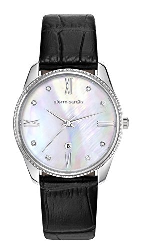 PIERRE CARDIN Orologio Analogico Quarzo Donna con Cinturino in Pelle PC107572F01