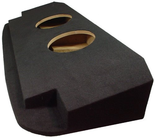 """Compatible with Chevy Avalanche or Cadillac Escalade EXT 2002-2013 Dual 12"""" Subwoofer Behind Seat Sub Box Speaker Enclosure"""