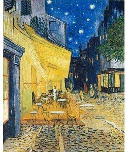 Leinwandbild, Vincent van Gogh, Café de Nuit, 60 x 76 cm