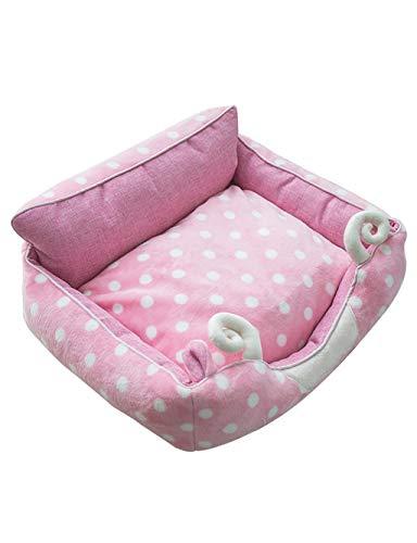 Cat Bed | Cat Bed Flat Cat slaapkussen zacht ademend bed met kussen - voor katten en kittens onder 22 lbs