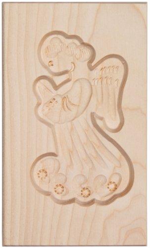 HOFMEISTER® Spekulatius-Model betender Engel, 15x9cm, Ahorn