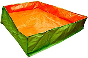 BIO Blooms Agro India PVT LTD Grow Bag Very Big Tub 6'x4'x1' Feet for Gardening,200gsm, Uv Treated 4 to 5 Years Life,...