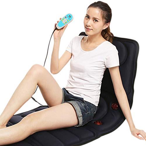 DXFK.AM Elektrisch Tragbar Ganzkörper Vibrieren Wärme Massage Matratze Pad...
