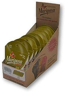 Mariposa Cristales Kaki 675 Colectiva con 10 Piezas