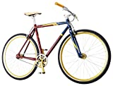 Captain Marvel Single-Speed Fixie Style Bike by Schwinn, Featuring 58cm/Large Steel Stand-Over...