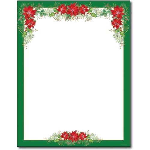 Christmas Border Design.Christmas Border Paper Amazon Com