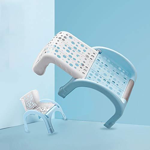 Badstoel WYZQQ Multifunctionele kinderstoel, opvouwbare kruk, ligstoel, studiekruk - geschikt voor kinderen om een bad te nemen, te spelen, te leren