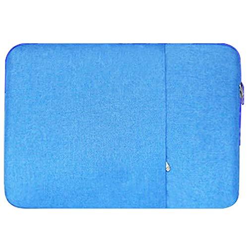 Xixihaha Multifunción Caja del portátil Caja de la computadora portátil Bolsa de Cubierta de la Tableta 11.6 13.3 15.6 para MacBook Pro Air Retina 11 13 15 (Color : Blue, Size : Model A1370 A1465)