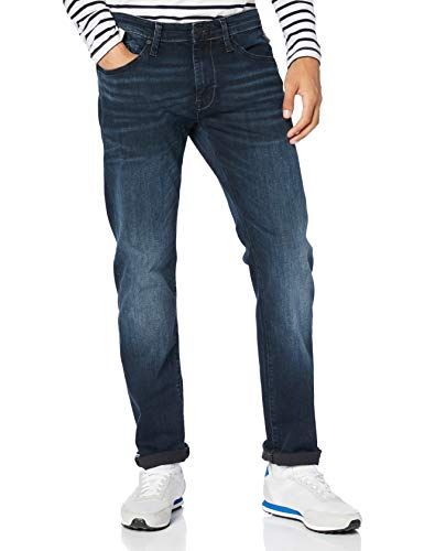 Mavi Herren Marcus Straight Jeans, Ink Brushed Ultra Move 26780, 36W / 32L