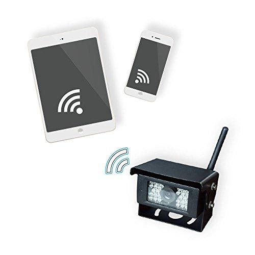 Beeper H3WIFI Cámara de Marcha atrás-Inalámbrica-transmisión en applicación móvil-Aplicación Android e IOS-Coche-Bus-Camión-Remolques-Caravana-Autocaravana-H3WIFI-BEEPER,...