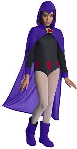 Rubie's Teen Titans Go Movie Costume Deluxe Raven, Large