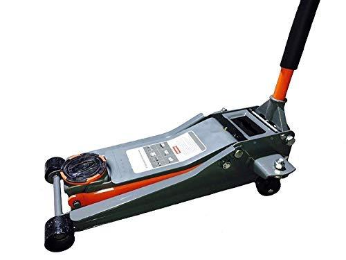 Cric/Sollevatore/Martinetto idraulico a carrello 3T/3000Kg con profilo extrabasso