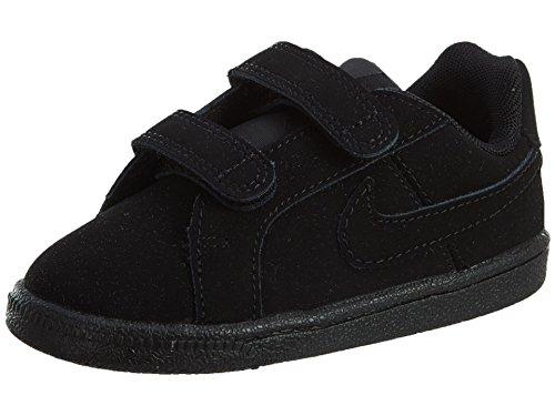 Nike Court Royale (TDV), Scarpe da Tennis Unisex-Bambini, Nero (Black/Black 001), 27 EU
