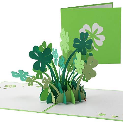Valentinstag,Geburtstagskarte Geschenk für Ihre Verwandten, Freunde und Liebhaber Special, 3D Pop-Up-Grußkarte mit schönen inklusive Umschlag