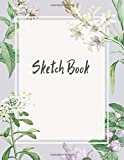 Sketch Book: Beautiful Watercolor Cover Notebook for Drawing, Writing, Painting, Sketching or Doodling, 120 Pages, 8.5x11
