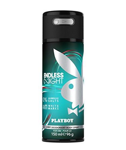 Playboy Endless Night 150ml Hombres Desodorante en spray - Desodorantes (Hombres, Desodorante, Desodorante en spray, De U, Universal, 96 g)