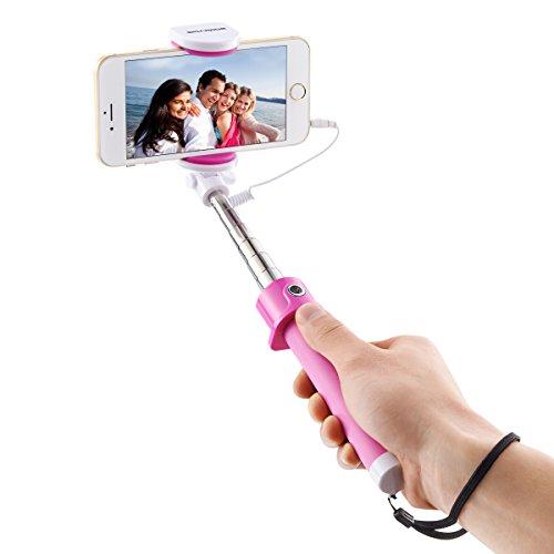 SIDARDOE Bastone per Selfie, Ultra Compatto Flessibile Asta Flessibile per Selfie con Scatto Remoto per iPhone Samsung Galaxy ed altri Smartphone Android.