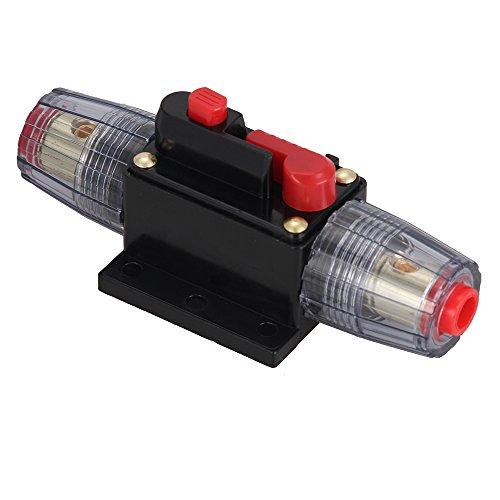 Foxpic 12-36VDC Protezione Interrutore Automatico Fusibile per Audio Stereo da Auto-40Amp