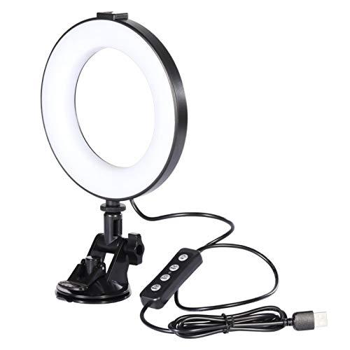 LED Video Licht, Videolicht Für Videokonferenzen, Zoom, Selbstübertragung Und Fernarbeit Videokonferenz Licht, Lampe Videokonferenz Laptop, Zoom Anruf Arbeitsarbeituchte Fernarbeit Licht