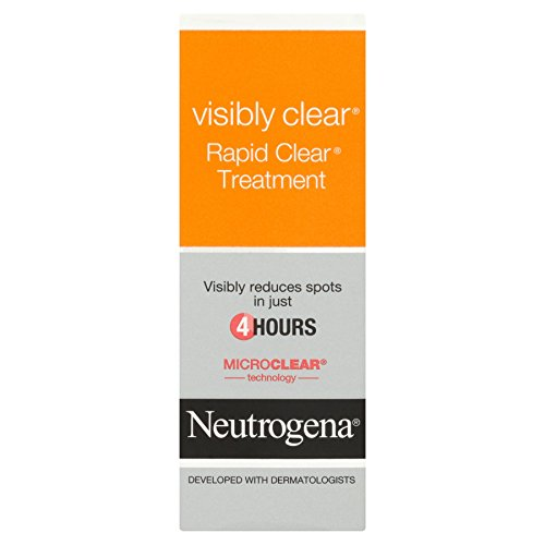 6 x Neutrogena Visibly Clear Rapid Clear Treatment 15ml
