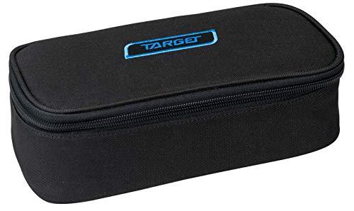 Target Compact Geo Pencil Case Unisex-Adult, Black, Taille Unique