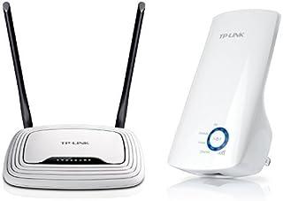 TP-Link WIFI 無線LAN ルーター TL-WR841N + 無線LAN 中継器 TL-WA850RE セット (11n/g/b ルーター、中継器:300Mbps)