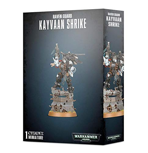 Warhammer 40k - Raven Guard Kayvaan Shrike