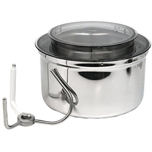 Stainless Steel Bowl Fits Bosch Universal, & Universal Plus Kitchen Machine