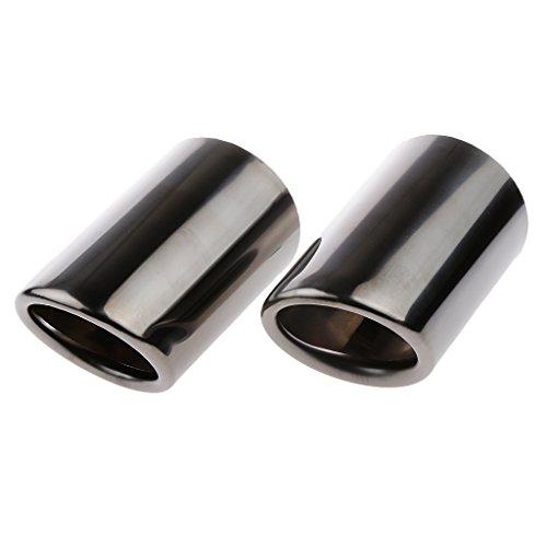 Auto Schalldämpfer Stahl Auspuffblenden Für Audi A4 Q5 Q3 usw