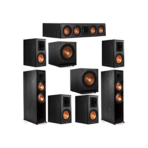 Review Klipsch 7.2 System with 2 RP-8000F Floorstanding Speakers, 1 Klipsch RP-404C Center Speaker, ...
