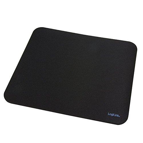 LogiLink ID0117 Gaming Mauspad, schwarz (230 x 204,5 x 4 mm)