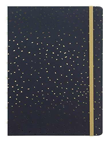Filofax Confetti A5 Refillable Notebook in Charcoal, 115117