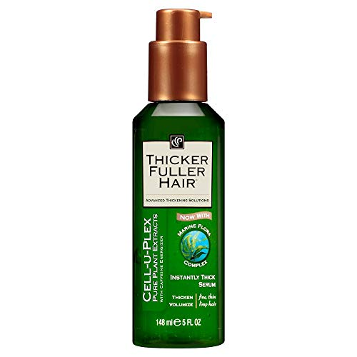 Thicker Fuller Hair Thickening Serum 5 Ounce (145ml) (Pack of 6)