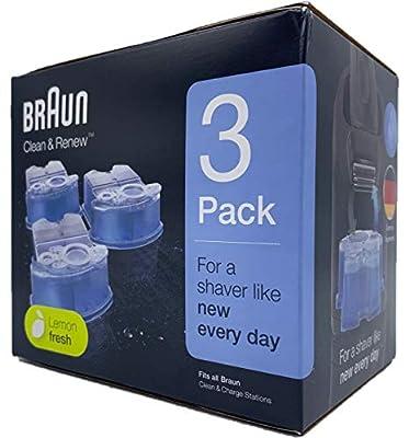 Braun CCR3 Shaving Refill Cartridges