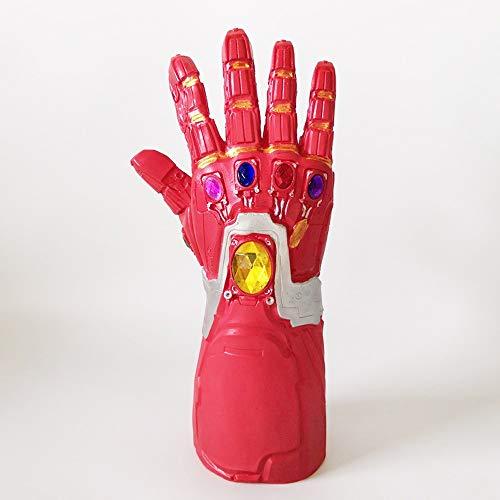 CHOU XIAO Doll Superhero Glowing Avengers Infinity War Guanti Infinite Guanti Guanti Infinite con LED Action PVC Figure Toy da Collezione Aumentare Il Vostro Spirito Supereroe (Color : C)