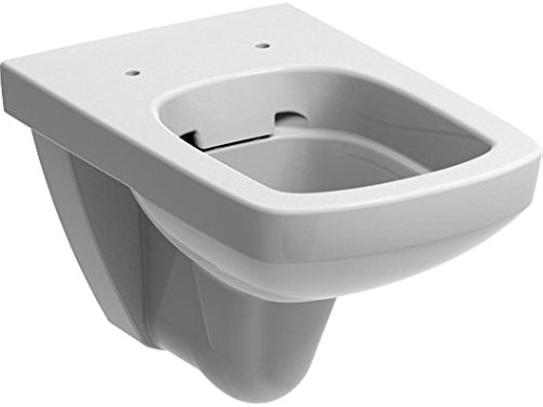 Ceravid Vanea Wand WC Tiefspüler Rimfree ohne Spülrand, wei? alpin, ohne Deckel CA5050000