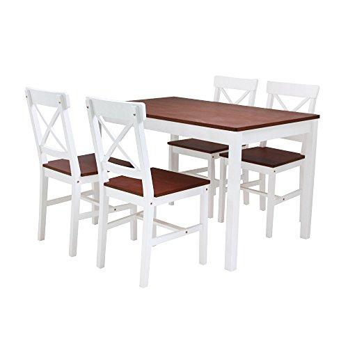 Furniture 247 - Roble Essgruppe - Zweifarbig