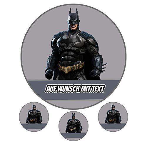 Tortenaufleger aus Zuckerpapier - Tortenbild Geburtstag Tortenplatte Zuckerbild Motiv: Batman