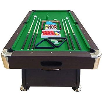 GRAFICA MA.RO SRL TAVOLO DA BILIARDO 8 piedi - misura di gioco 220 x 110 cm + ACCESSORI PER CARAMBOLA - SNOOKER VERDE billiard table Modello Vintage Verde