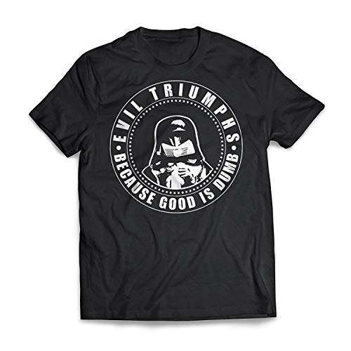 AYYUCY Sportbekleidung Herren Kurzarmshirt Evil Triumphs Sci-Fi Spaceballs T-Shirt
