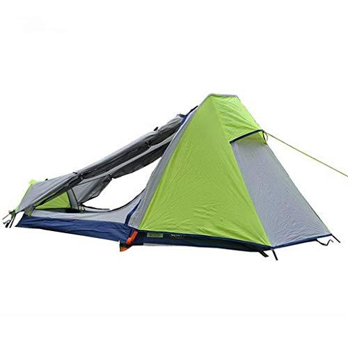 Ankon Fácil Pop Up Beach Sun Shelter Tienda Familia Campaña Camping Ultralight Camping Tienda Individual Persona Fácil Configure Doble Capa Impermeable Carpa instantánea para Senderismo Recreación al
