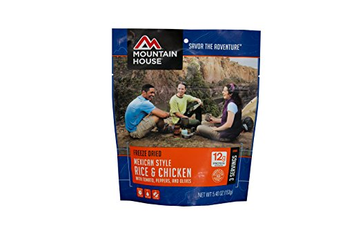 Mountain House Mexican Style Rice & Chicken, Pouch
