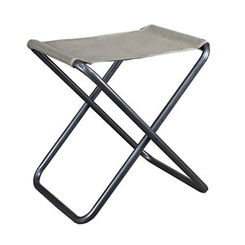 Westfield Kobold 2-in-1 faltbar Camping Hocker mit Abnehmbarer Tischplatte Beige Textil…